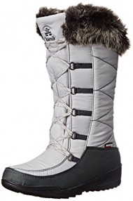 Kamik Women's Porto Insulated Winter Boot, Grey, 9 M US