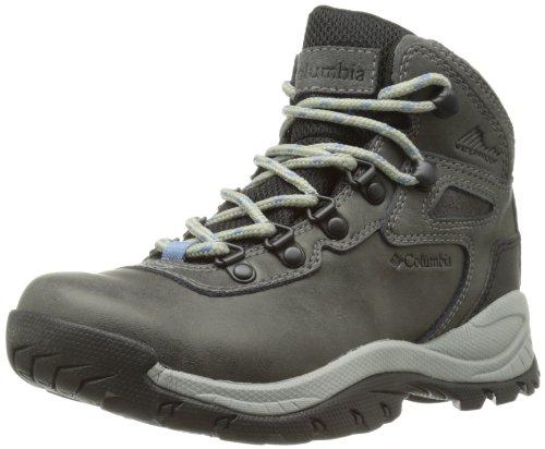 Columbia Women's Newton Ridge Plus Hiking Boot,Quarry/Cool Wave,7.5 M US