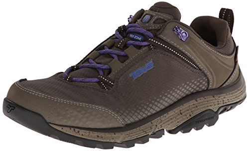 Teva Women's Surge Event Waterproof Hiking Shoe,Black Olive,8 M US