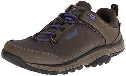 Teva Women's Surge Event Waterproof Hiking Shoe,Black Olive,8 M US