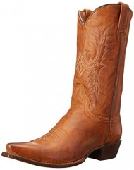 Stetson Women's 12 Inch Classic Lady Snip Toe Riding Boot, Tan, 7 B US