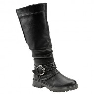 Wanderlust Steffi Wide Shft Women's Boot 9 B(M) US Black