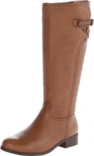 Trotters Women's Lucky Too Riding Boot,Cognac,7 M US