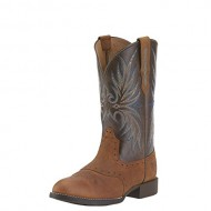 Ariat Western Boots Womens Heritage Saddle Vamp 9 B Root Beer 10015322