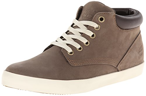 Timberland Women's EK Glastenbury Chukka Boot, Slush Grey Nubuck, 9.5 M US