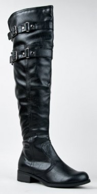 RIDE Buckle Over the Knee Moto Riding Boot