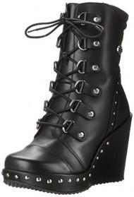 Harley-Davidson Women's Sandra Motorcycle Boot, Black, 9 M US