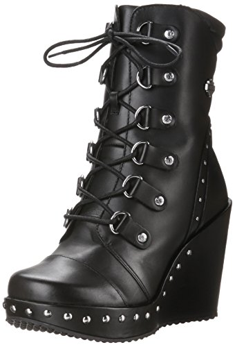 Harley-Davidson Women's Sandra Motorcycle Boot, Black, 9 M US