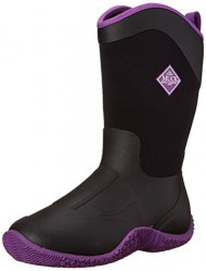 MuckBoots Women's Tack II Tall Equestrian Work Boot, Black/Purple, 11 M US