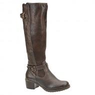 BareTraps Knightley Women's Boots Dark Brown Size 6 M (BT22265)