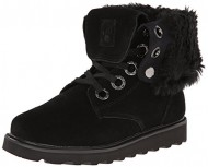 BEARPAW Women's Kay Snow Boot,Black,10 M US