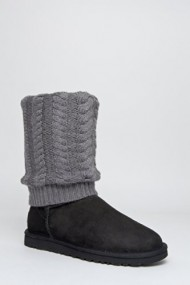 UGG Australia Tularosa Route Detachable Black Multi Womens Boot (5)