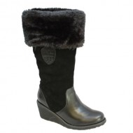 Pajar Women's DONATA Boot, Black, 40 M EU
