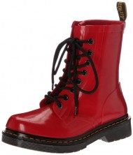 Dr. Martens Women's Red Drench 8 Eye Boot 7 F(M) UK