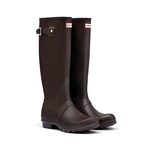Hunter Original Tall Chocolat Womens Boots Size 8 US