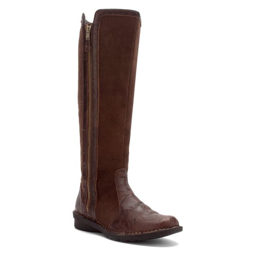 Clarks Women's Nikki Park Boot Brown Wrinkled Leather 8 M US