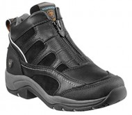Ariat Women's Terrain Zip H2O Hiking Boot, Black, 10.5 (B) Medium US