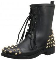 Chooka Women's Studded Stomper Boot,Black,8 M US