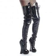 Devious Women's Femme 3020 34″ Boots,Black,6 M