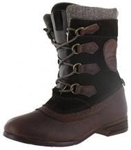 Pajar Women's Clara Boot,Dark Brown,38 EU/7-7.5 M US
