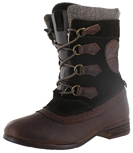 Pajar Women's Clara Boot,Dark Brown,38 EU/7-7.5 M US