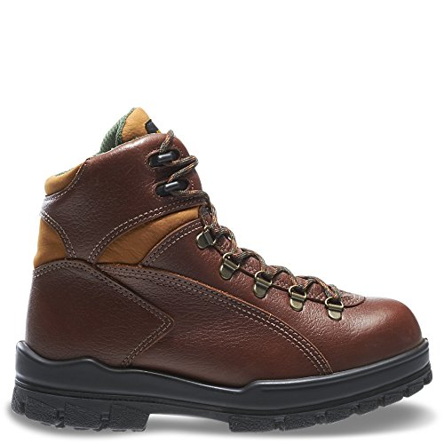 Women's Wolverine DuraShocks 6″ Waterproof Steel Toe EH Work Boots Brown, 9.5M