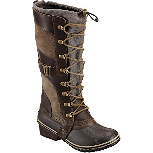 Sorel Conquest Carly Boot – Women's Camo Brown / Pebble 5.5