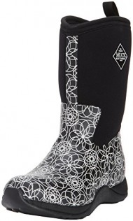 Women's Muck Boots Arctic Weekend Print Black Swirl Insulated Winter 5 M