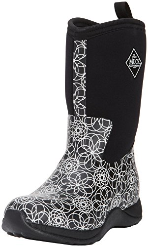 Women S Muck Boots Arctic Weekend Print Black Swirl