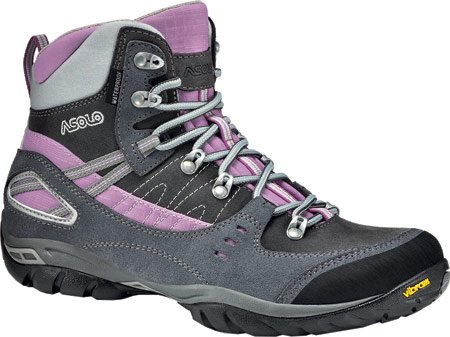 Asolo Yuma Waterproof Hiking Boot – Women's Grey/Graphite, 9.0