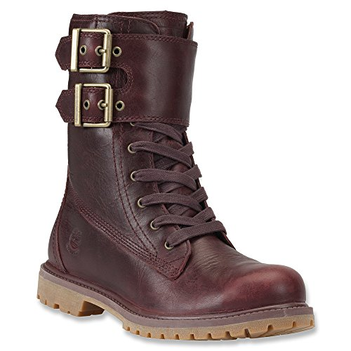 Timberland Women's Dark Burgundy EK 8 Premium Double Strap WP 9.5 B(M) US