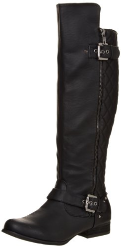Not Rated Women's Uptown Boot,Black,6 M US