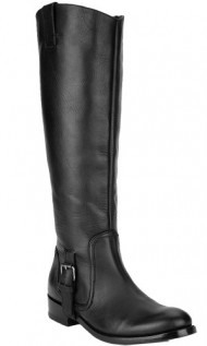 Dolce Vita Women's Luela Boot,Black Leather,6.5 M US