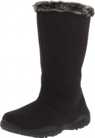 Propet Women's Madison Tall Zip Boot,Black,10 B US
