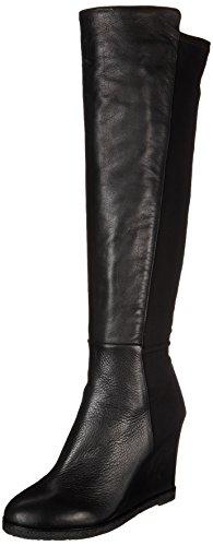 VINCE CAMUTO Women's Kaelen Boot (Black Leather 9.0 M)