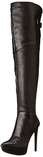 Jessica Simpson Women's Valentia Boot, Black, 7 M US
