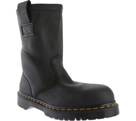 Dr. Martens Steel Toe Wellington Boot Black Men's 14 M US