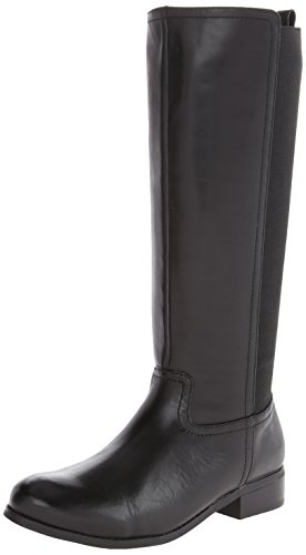 Trotters Women's Lucia Riding Boot,Black,12 M US