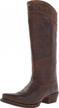 Ariat Women's Sahara Western Fashion Boot, Sassy Brown, 9.5 M US