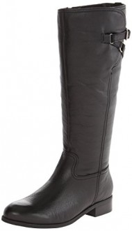 Trotters Women's Lucky Too Boot,Black,6 W US