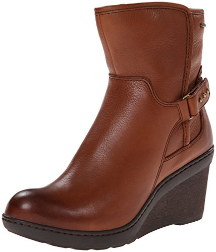 Clarks Women's Natira Kit GTX Boot,Brown Leather,9.5 M US