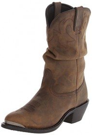 Durango Women's RD542 Slouch 11″ Western Boot,Distressed Tan,9 M US