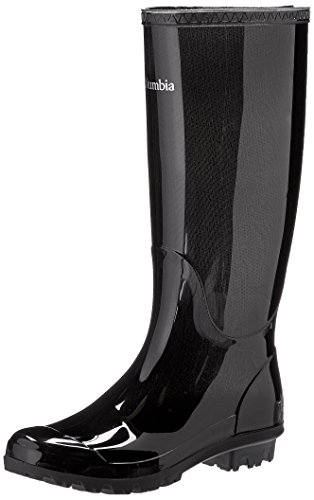 Columbia Women's Luscher Omni-heat Classic Rain Boot,Black,7 M US