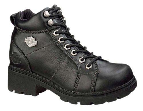 Harley-Davidson Women's Tyler 6″ Boot,Black,11 M