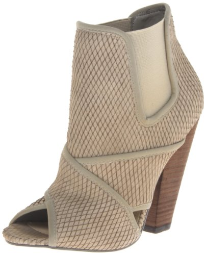 Steve Madden Women's The Blonde Salad Tdubai Boot,Taupe Snake,6.5 M US
