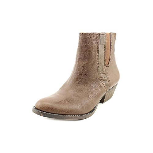 Nine West Sloane Womens Size 5.5 Brown Leather Fashion Ankle Boots
