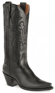 Dan Post Women's Maria Western Boot,Black,7.5 M US