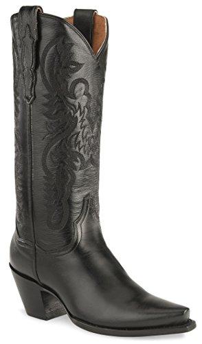 Dan Post Women's Maria Western Boot,Black,7.5 M US