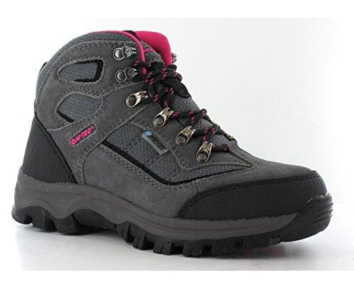 Hi-Tec Hillside Women's Waterproof Walking Boots – AW15 – 8 – Grey