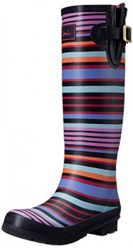 Joules Women's Welly Print Rain Boot